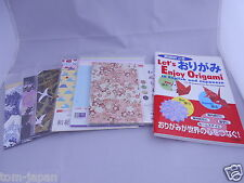 Let's Enjoy Origami in English Book with 6type Origami 197sheets from JapanF/S B