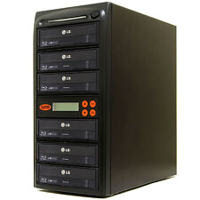 5 Burner Blu Ray CD DVD 16X Duplicator Copier Mdisc Systor copy Machine System