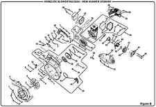 HOMELITE FUEL GAS TANK fits Model UT26HBV Leaf Debris Blower Vacuum PART #54
