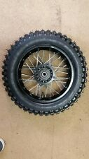 "10"" Pit Bike SDG steel Rear Wheel  & Tyre demon shineray thumpstar 3.00-10"