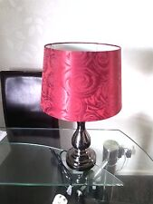 Red Roses Side Lamp From The Range unused