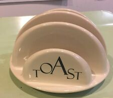 Toast Holder, Toast Rack From Create by Just Mugs White Cream