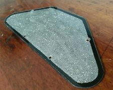 Back plate / Control Cover.. Silver Flake / Black . Fits Gibson SG USA..   JAT