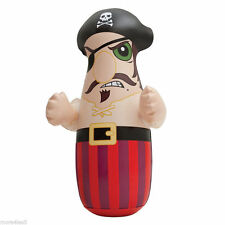 Inflatable 3-D Pirate Bop Bag Indoor Outdoor FUN BOX NEW  Great Gift Punch Bag