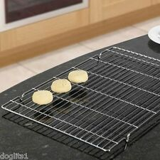 Pk 2 Large Wire Cake Cakes Biscuit Baking Bakery Cooling Tray Trays Racks Rack