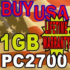 1GB HP Tablet PC TC1100 PC2700 Memory RAM