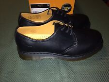 Doc Martens Black Shoes Size Men 12 US 3 Eye Reg Toe New Made in China