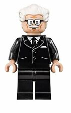 Alfred Butler Batman 1960s TV Show minifigure custom toy W Lego Sticker Movie