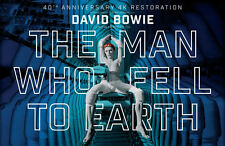 Framed Retro Movie Poster – David Bowie The Man Who Fell To Earth (Replica Art)