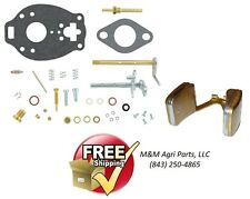 COMPLETE CARBURETOR KIT & FLOAT IH FARMALL A AV B BN SUPER A TRACTOR TSX157 CARB