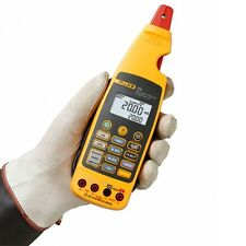 Fluke 773 Milliamp Process Clamp Meter, mA Source/Measure. Dual Backlit Display