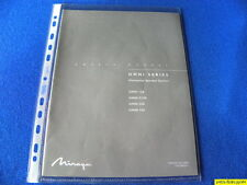 Mirage Omni Series Omnipolar Speakers Owner's Manual Operating Instructions  New
