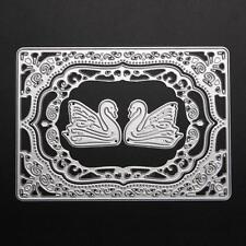 DIY Cygne Matrices À Découper Pochoirs Carte Album Art Scrapbooking Décor Modèle