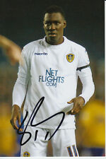 LEEDS UNITED HAND SIGNED LLOYD SAM 6X4 PHOTO.