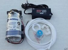 AQ&Q 24V BOOSTER PUMP+24V SMPS+24V Solenoid Valve FOR RO WATER FILTER/PURIFIERS
