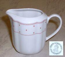 Form Marienbad Ingres Weiss ~ Milchkännchen ~ kleine rosa Rauten