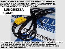 CABLE AUX IN MP3 FIAT GRANDE PUNTO 500 159 PANDA SMART (FUNCTION AUX) 1.4 M
