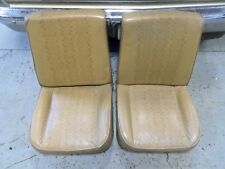 Low Back Utility Bucket Seats Chevy GMC Dodge Ford truck van 73 87