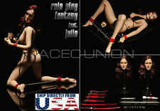 1/6 Sexy Role Play Fantasy SM SPANK Julie Heads Full Set Fit Hot Toys Phicen USA