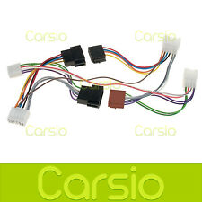 Toyota Auris Car Hands Free Parrot/Bluetooth ISO Adaptor Lead Connector Harness