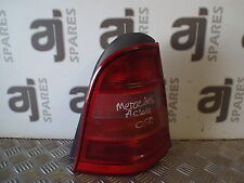 MERCEDES A CLASS 1.9 2001 DRIVERS SIDE REAR LIGHT CLUSTER WITH BULBS AND HOLDERS