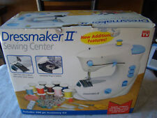 Dressmaker II Sewing Center Compact Portable Sewing Machine As Seen On TV