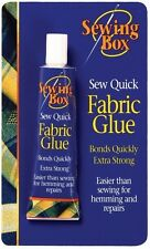 Sew Sewing Fabric Glue Adhesive Bond Quick Strong Textile Hemming Repairs Clothe