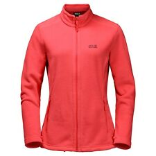 Jack Wolfskin Fleecejacke Moonrise Jacket Damen, hibiscus red, Gr. XL, NEU