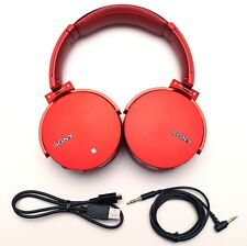 SONY MDR-XB950BT/R Wireless Stereo Extra Bass Headset Bluetooth RED MDRXB950BT