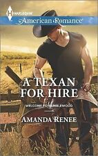 A Texan for Hire (Welcome to Ramblewood)