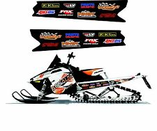 POLARIS RUSH PRO RMK 600 700 800 INDY ASSAULT 120 155 163 TUNNEL DECAL STICKER 6