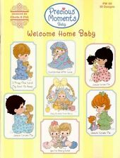 Precious Moments Counted Cross Stitch Charts Book ~ WELCOME HOME BABY #PM68 Sale