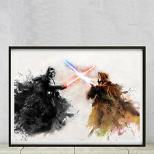 Star Wars, high quality A2 poster printer on smooth art matt 250gsm photo paper