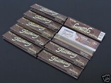 10 Pack BROWN Smoking 110mm FINE QUALITY UNBLEACHED KING SIZE ROLLING PAPER#1079