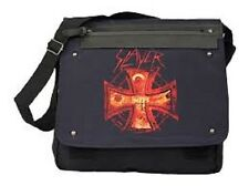 SLAYER - CROSS LOGO - OFFICIAL MESSENGER  BAG