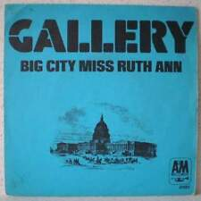"GALLERY Big city Miss Ruth Ann (LISTEN) 7"" 1972 softrock PS France"