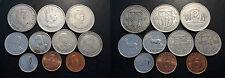 île Maurice - Mauritius - lot de x10 monnaies de 1951 à 2007
