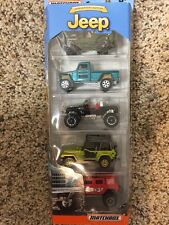 2016 Matchbox Jeep ® Anniversary 5-Pack '43 WILLYS/WILLYS 4x4/WRANGLER/SUPERLIFT