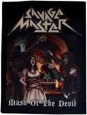SAVAGE MASTER - Mask Of The Devil  [Large Printed Backpatch]