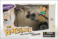 McFarlane Hanna Barberra Series 1 Fred Flintstone In Cruiser Deluxe Boxed 66020