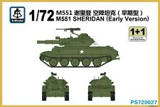 S-model 1/72 PS720027 M551 Sheridan Early Version (1+1)