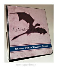 GAME OF THRONES SEASON 3 ULTIMATE MINI-MASTER & BINDER++
