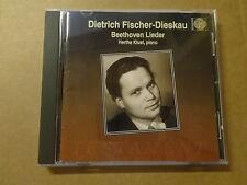 CD / BEETHOVEN - FISCHER-DIESKAU: LIEDER (TESTAMENT) - HERTHA KLUST