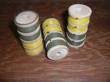 Batch 3 Spools Snare Trip wire Claymore Vietnam survival preppers  480 ft Total