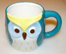 New! Owl Mug Ceramic 16oz. Capacity Dishwasher & Microwave Safe