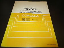 Karosserie Werkstatthandbuch Toyota Corolla EE90 AE92 CE90 Serien ab 05/87