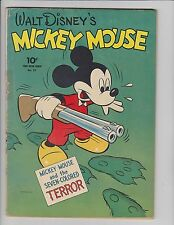 1943 Dell Comics Four Color #27 Mickey Mouse FN