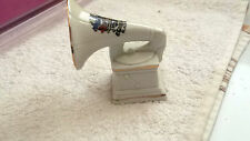 VINTAGE  MODEL OF A WIND-UP GRAMAPHONE  CRESTED BLACKPOOL  NO MAKER