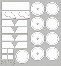 EDUARD 1/35 WHEEL & WINDSCREEN PAINT MASK SET for BEGO KUBELWAGEN Typ 82