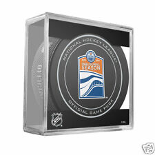 EDMONTON OILERS 2016-2017 Inaugural Season Rogers Place OFFICIAL GAME PUCK NEW